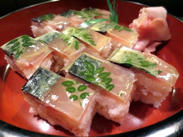鲭鱼寿司(半份)10贯