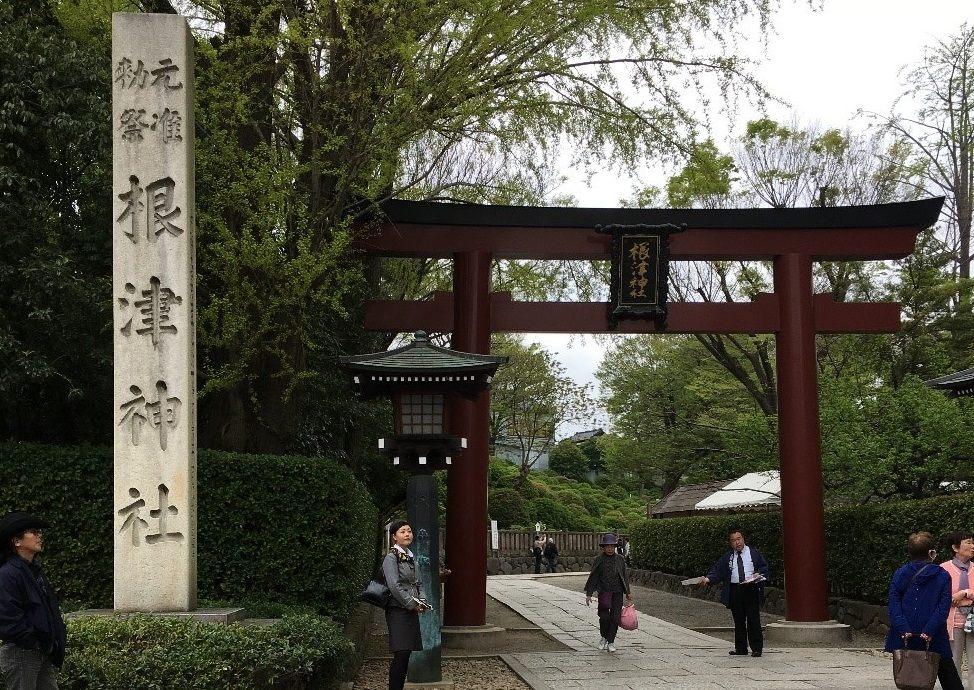 日本国家重要文化遗产:根津神社