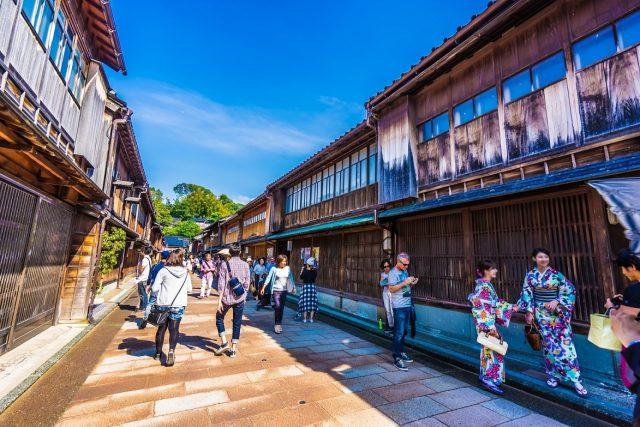 【遊記】漫步滿溢日本風情的金澤老街