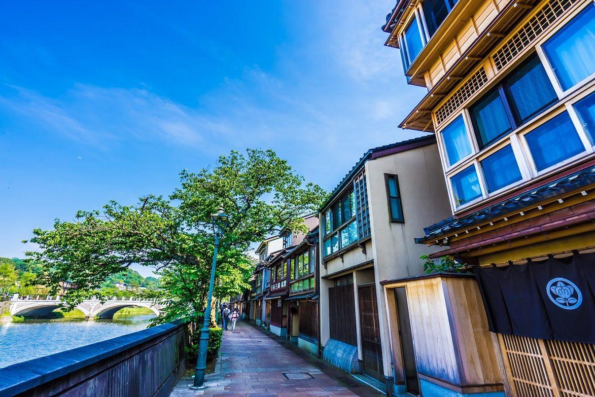 淺野川沿岸