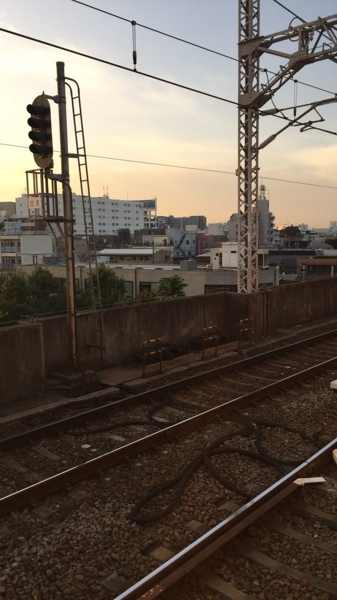 You can see the hostel from the station's platform.