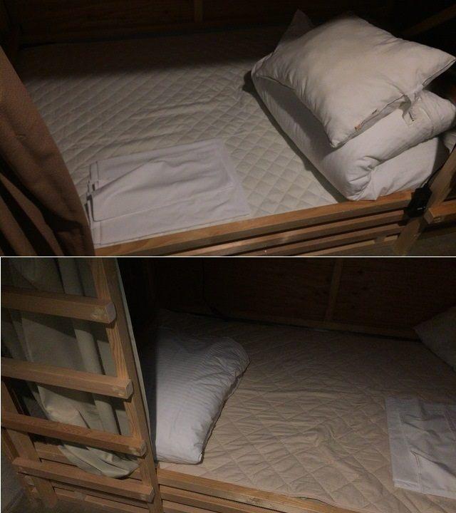 每張床須自己鋪床單