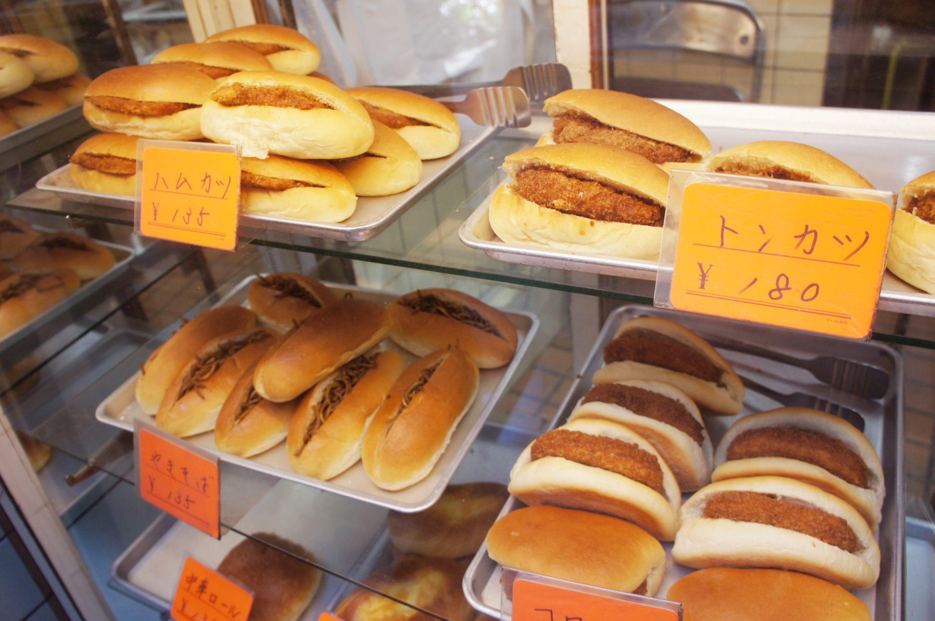 种类丰富的面包店
