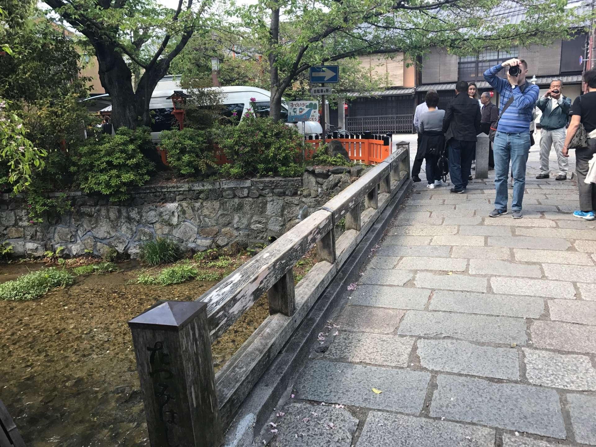 充滿京都風情的小徑