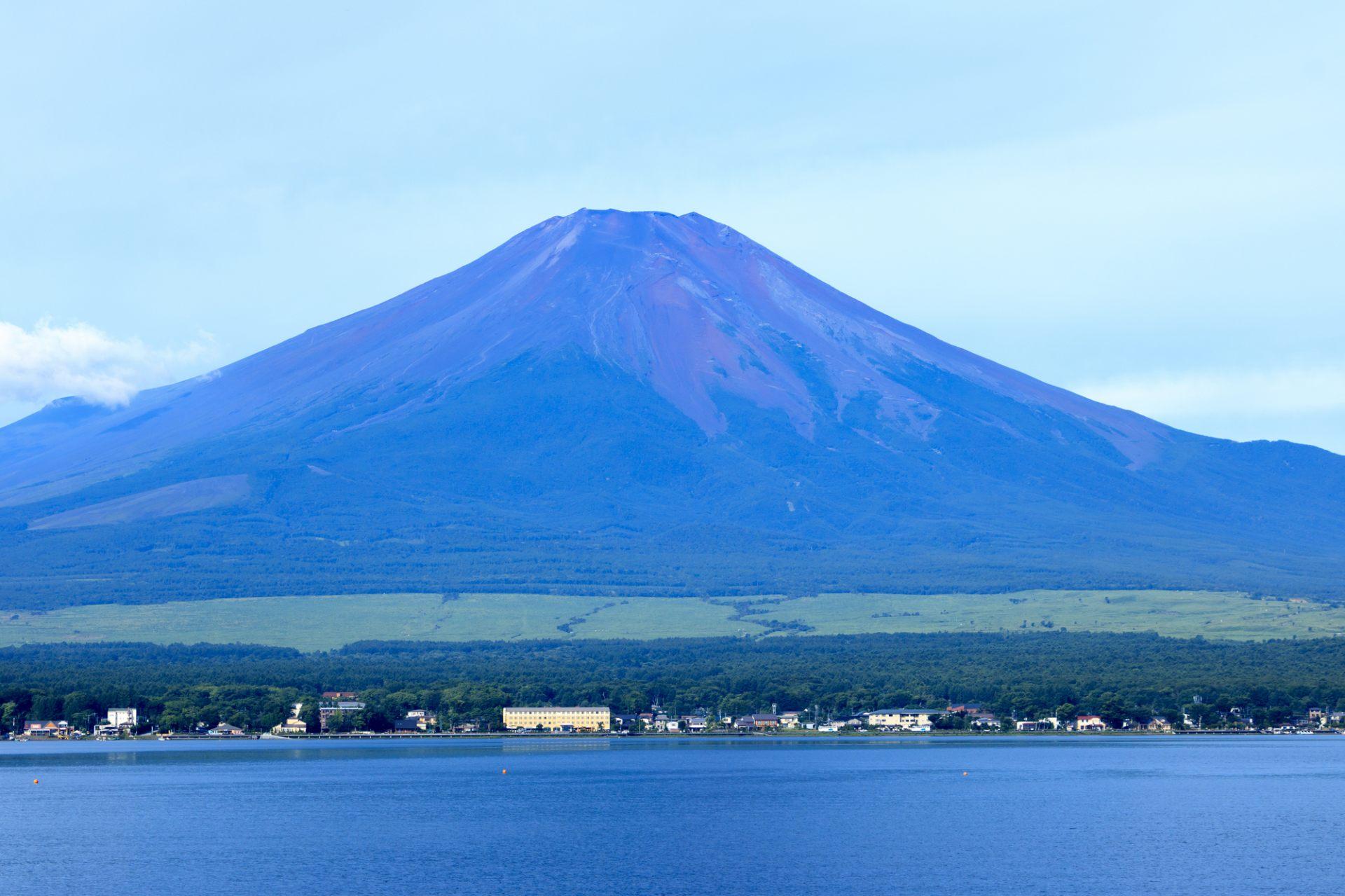 Lake Yamanaka, Mt. Fuji