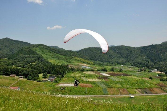 体验滑翔伞,在空中散步