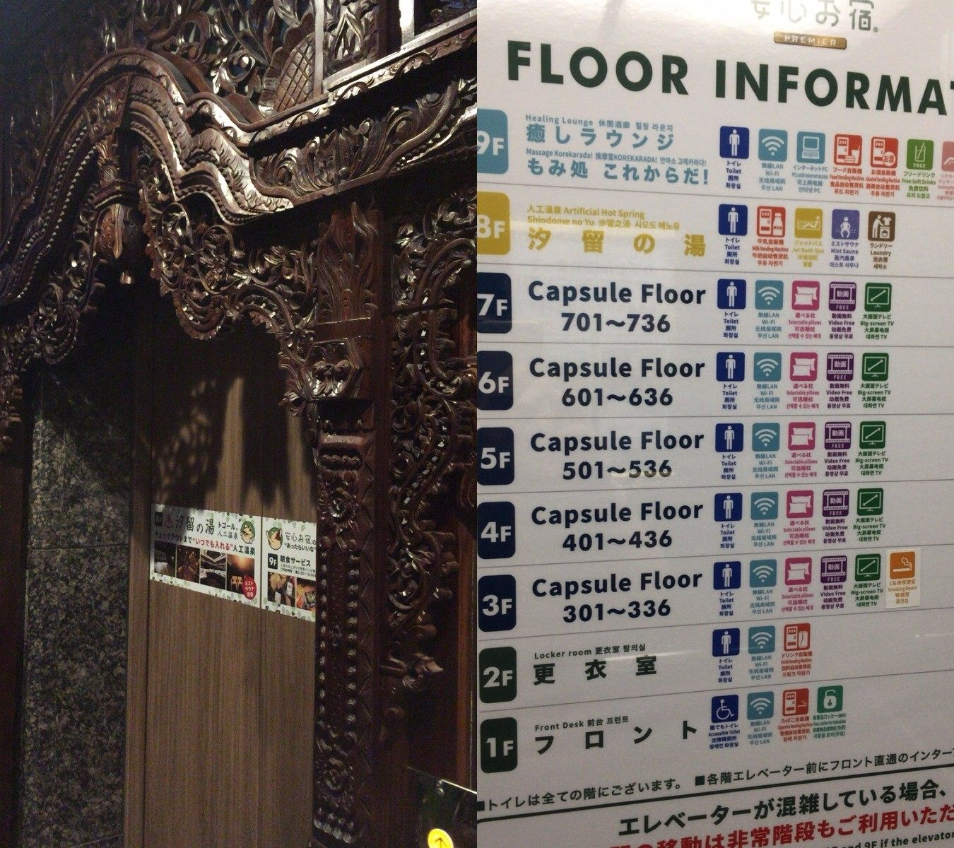 Elevator, Floor Guide
