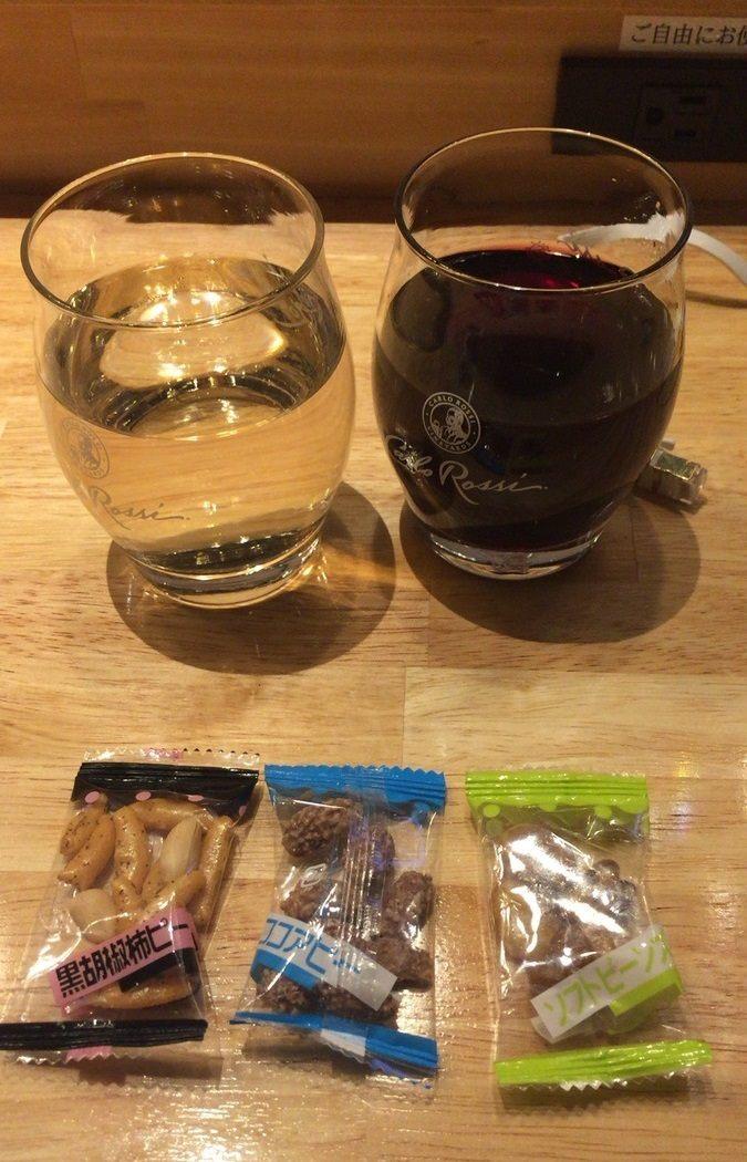 我选择的酒类和下酒零食