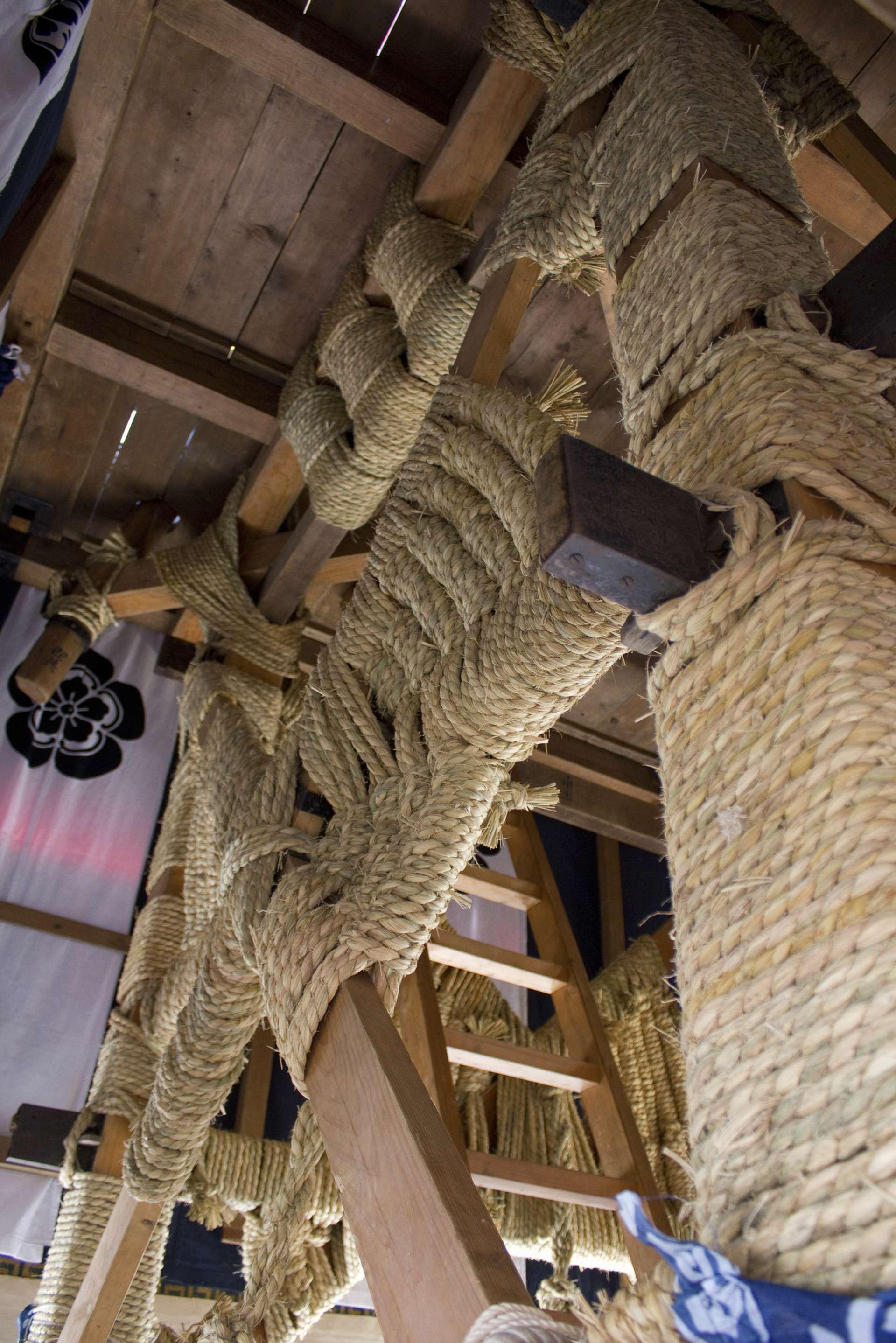 Inside a Yamaboko