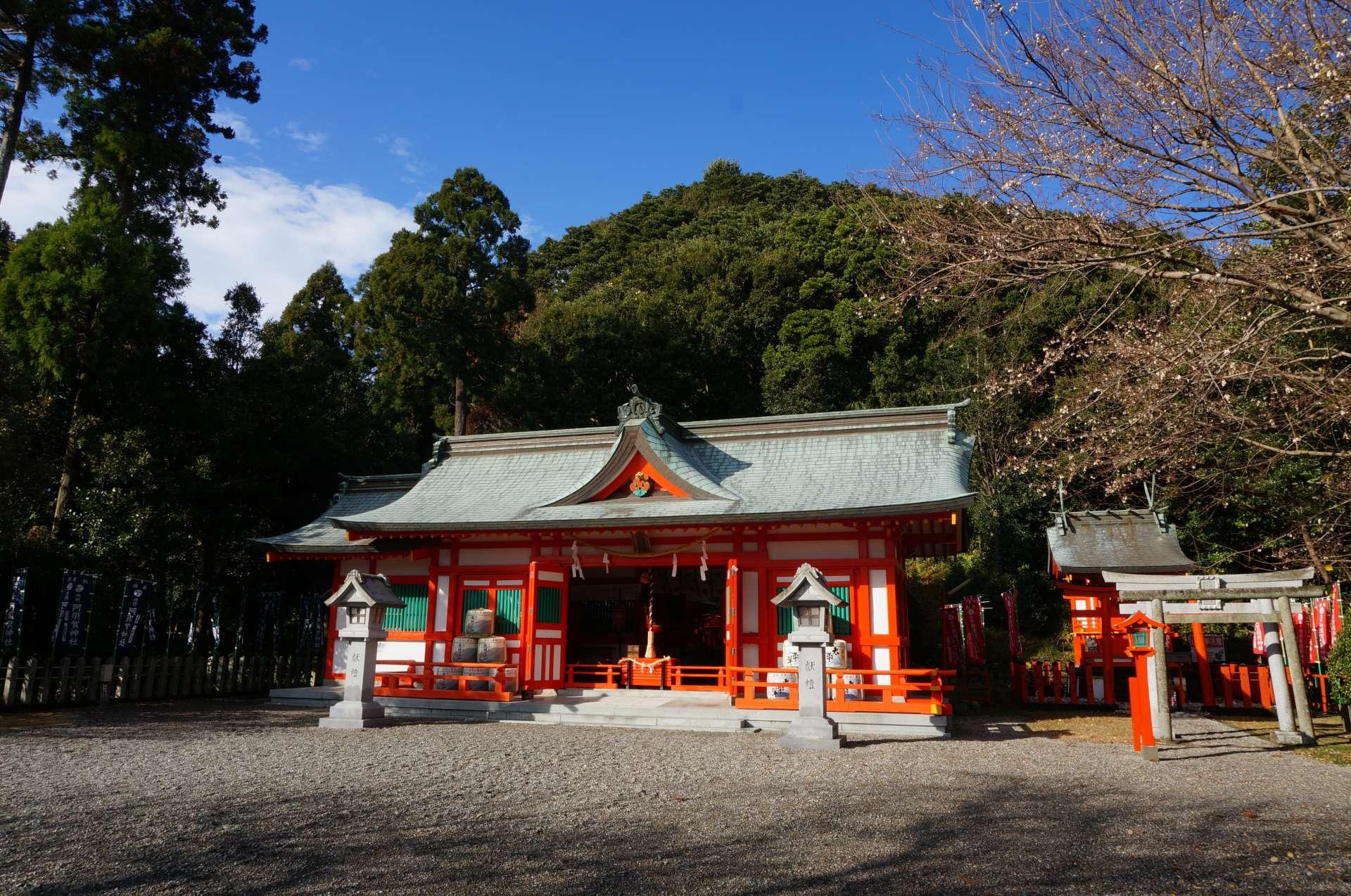 阿须贺神社社殿