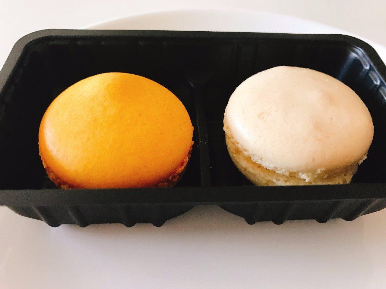 芒果&香草马卡龙