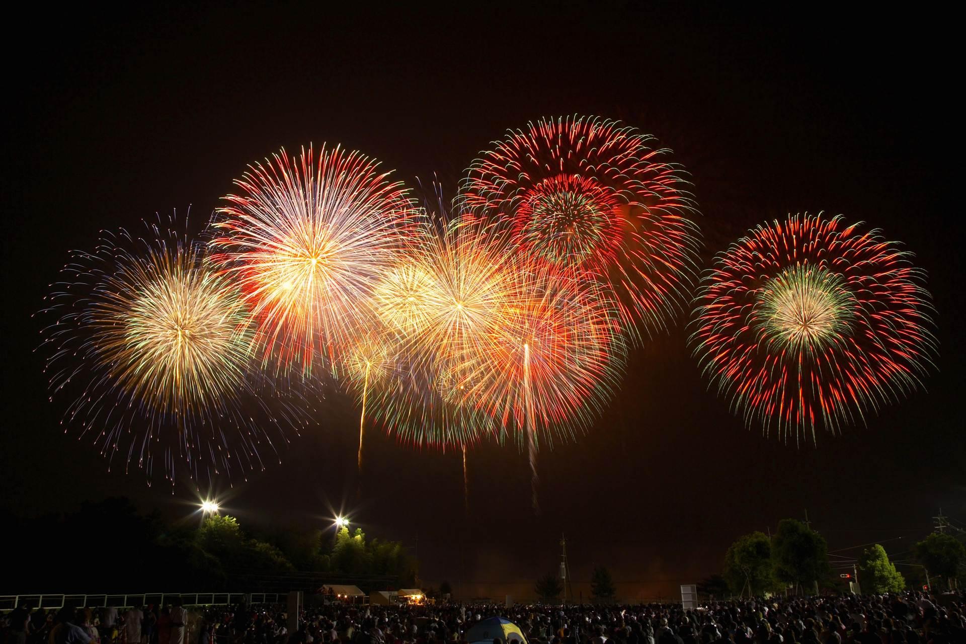 The 103rd Ashikaga Fireworks Festival