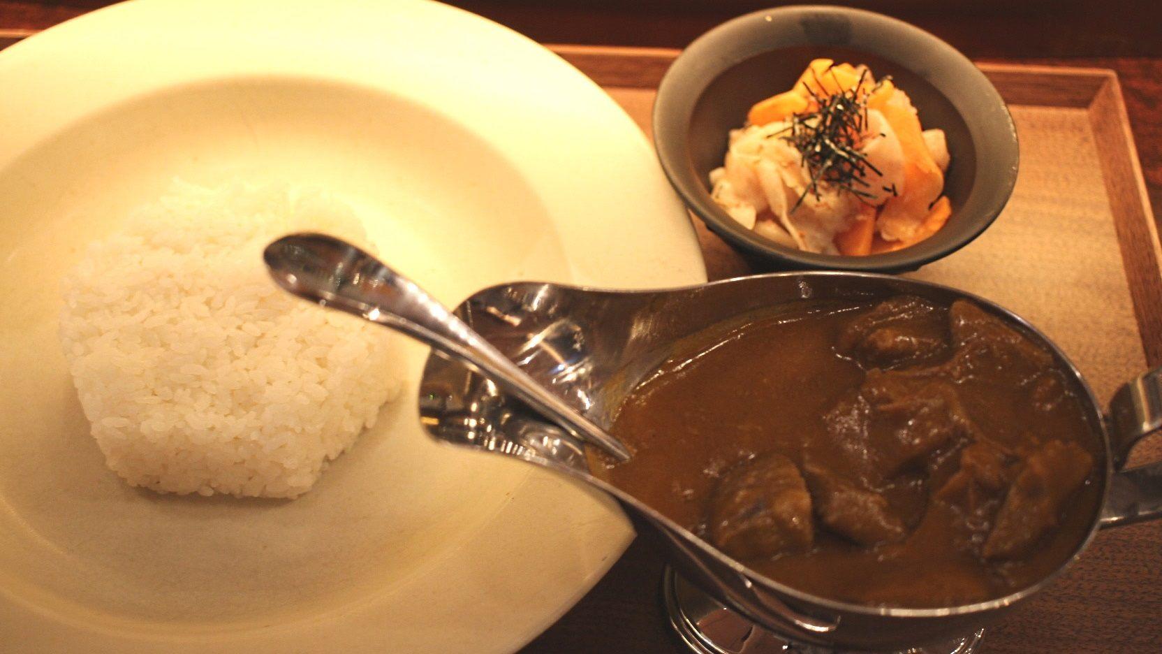 Ginza Modern Terrace's Wagyu Beef Curry