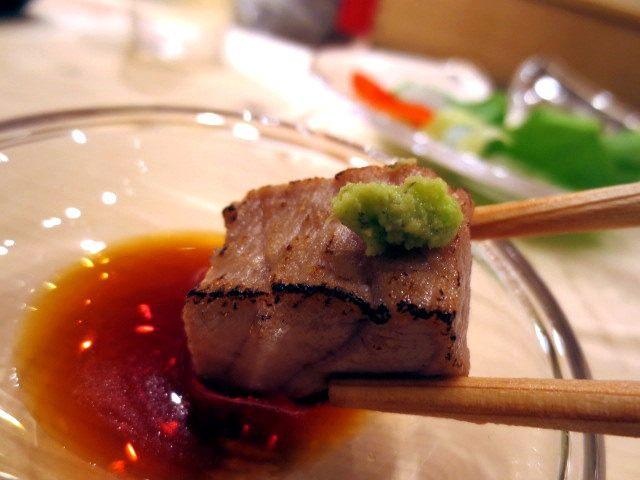 炙烤過的鮪魚