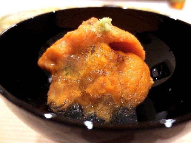 三隻海膽柳橙果凍