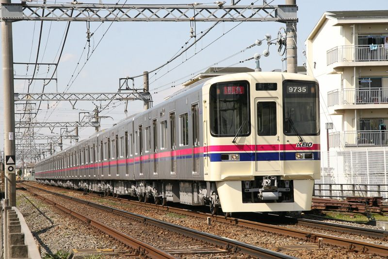 照片:京王電鐵電車外觀