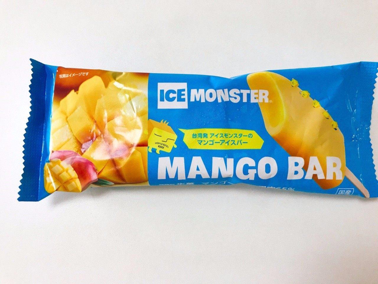 罗森芒果冰棒「 ICE MONSTER」