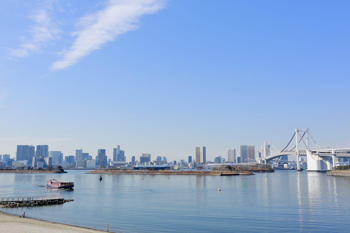 前往海湾眺望东京海吧♪
