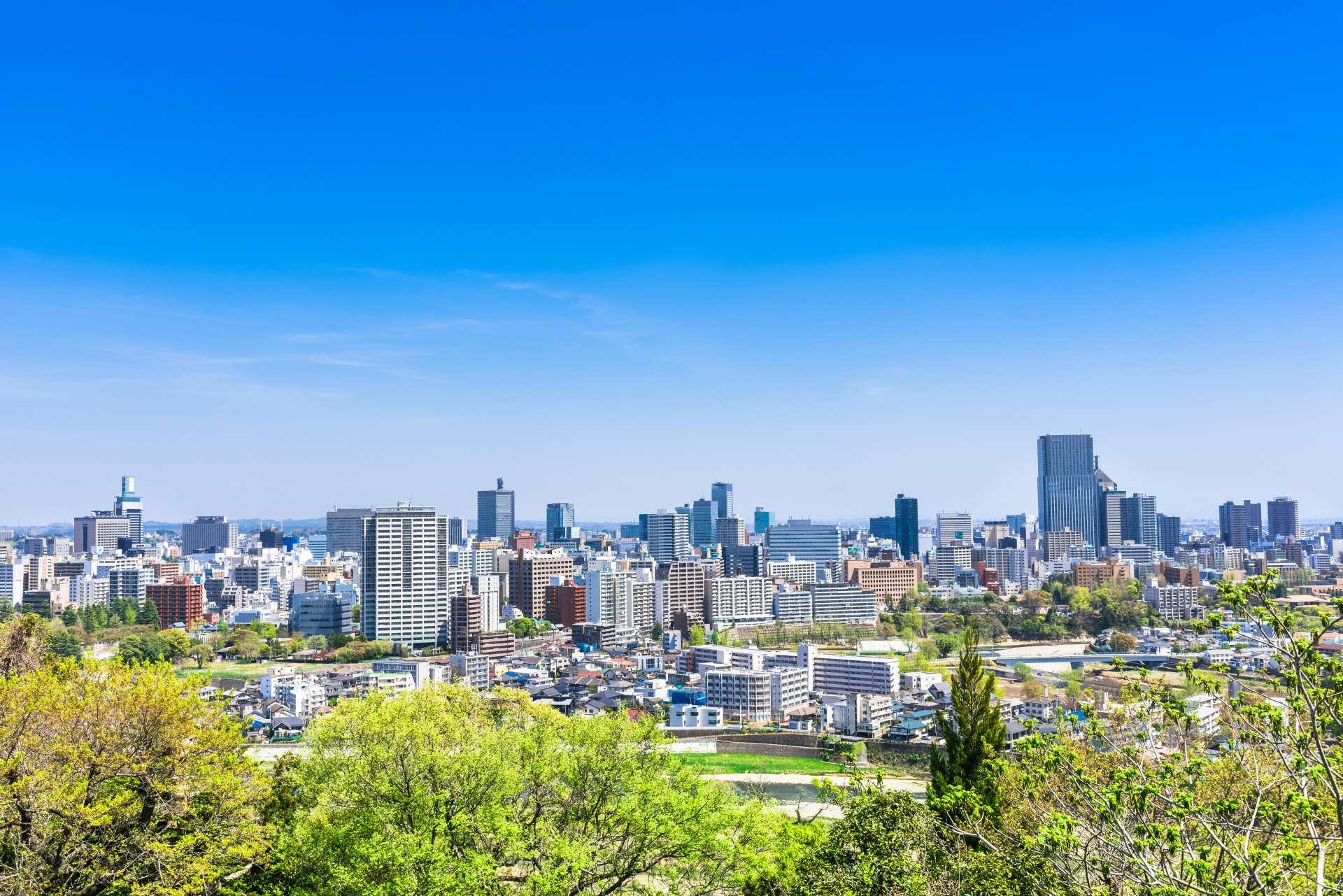 仙台市被譽為「森林之都」