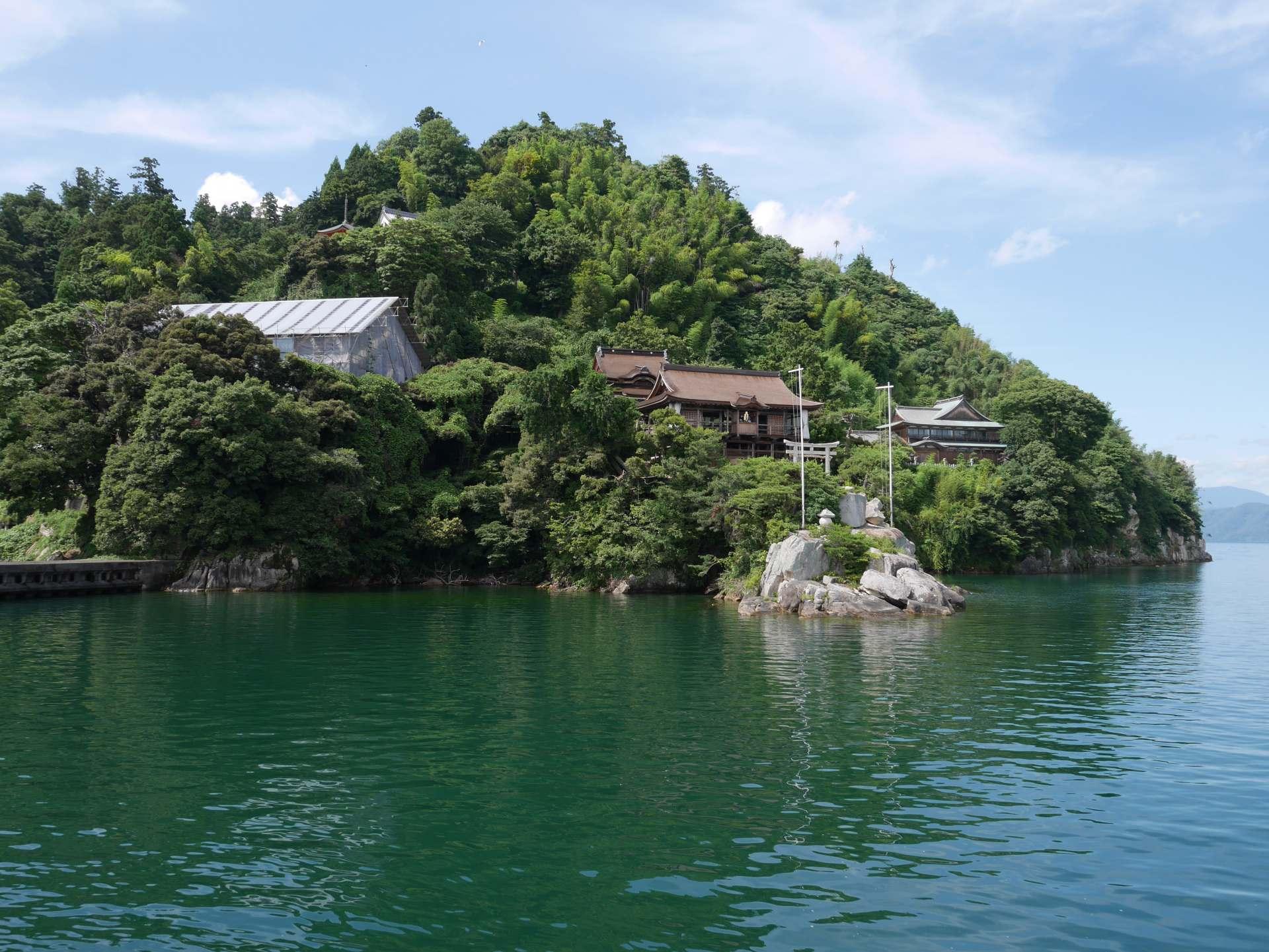 日本遺產 竹生島