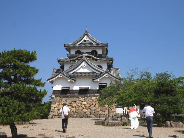 日本國寶「彥根城」