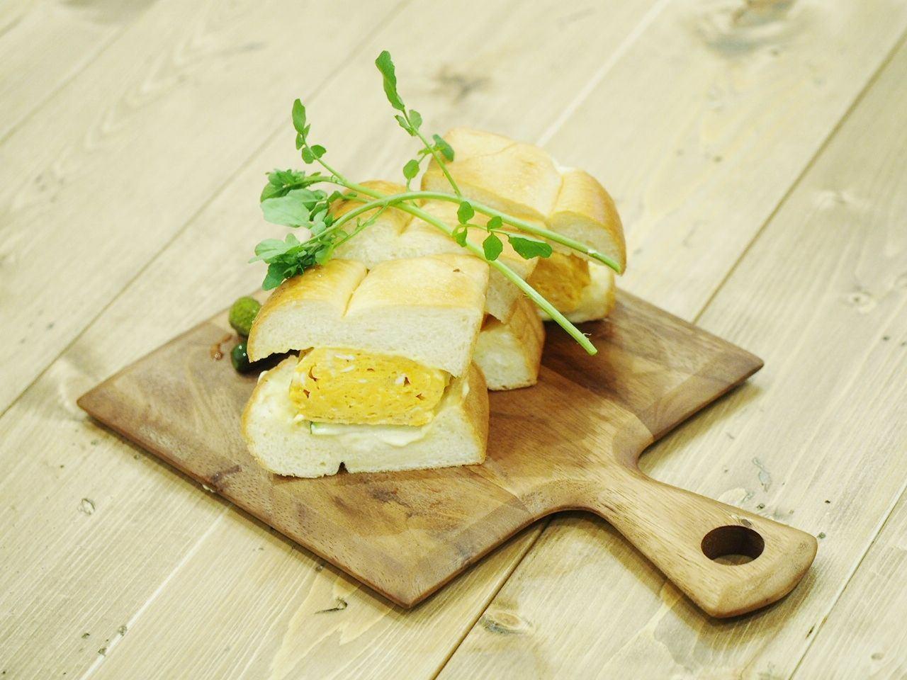 高級雞蛋三明治(720日圓)