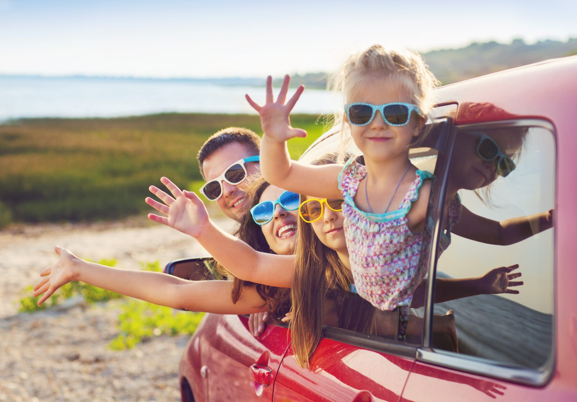 Traveling in Comfort with Friends and Family in a Car
