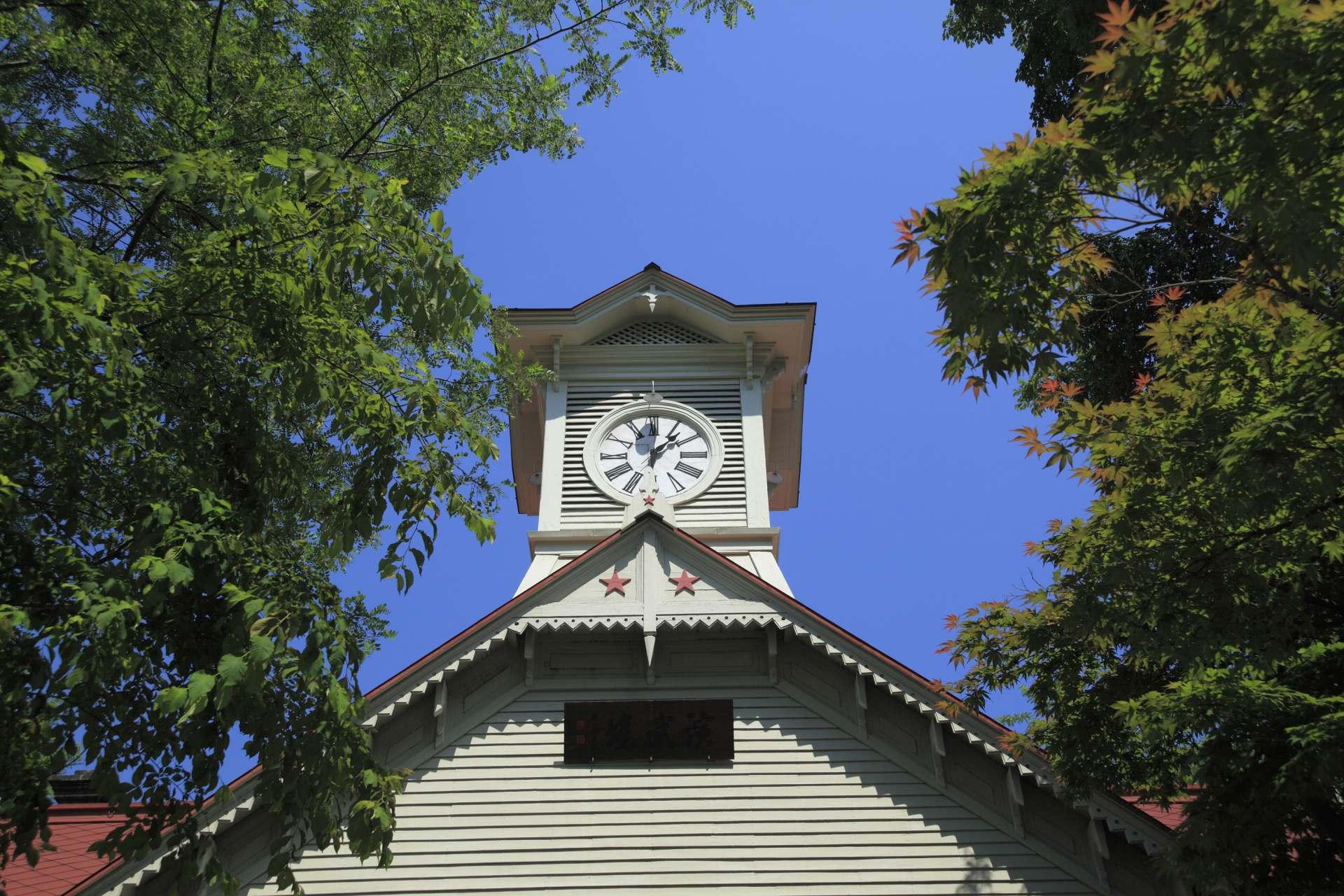 """A Symbol of Sapporo City, the """"Sapporo Clock Tower"""""""
