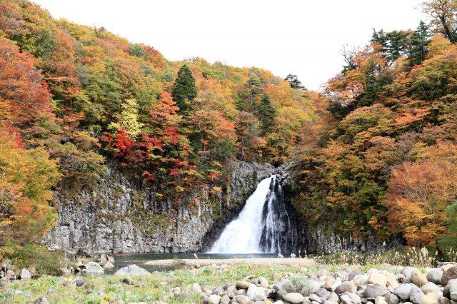 日本名滝百选 法体瀑布