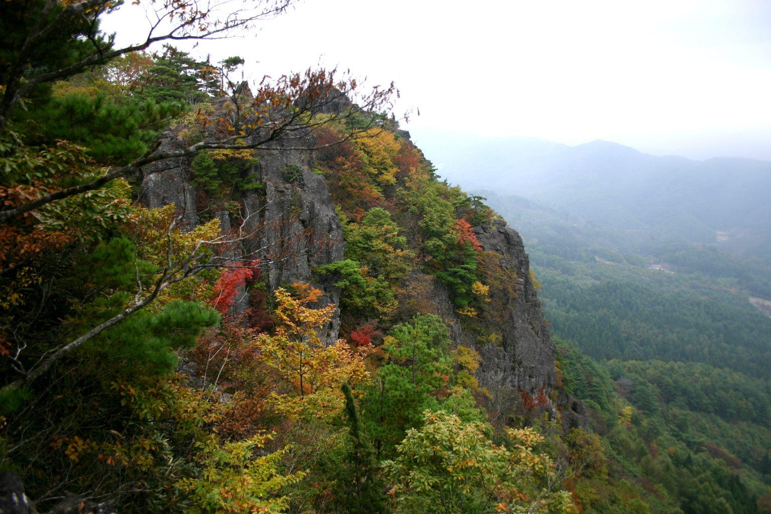 Mount Ryo having a long history