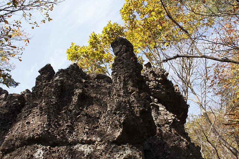 Fantastically Shaped Rocks on Mount Ryo