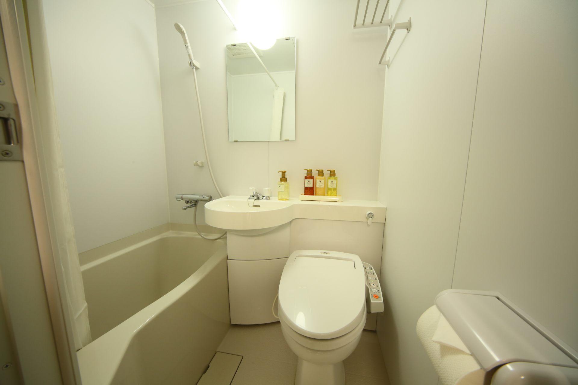 个人房的淋浴设备