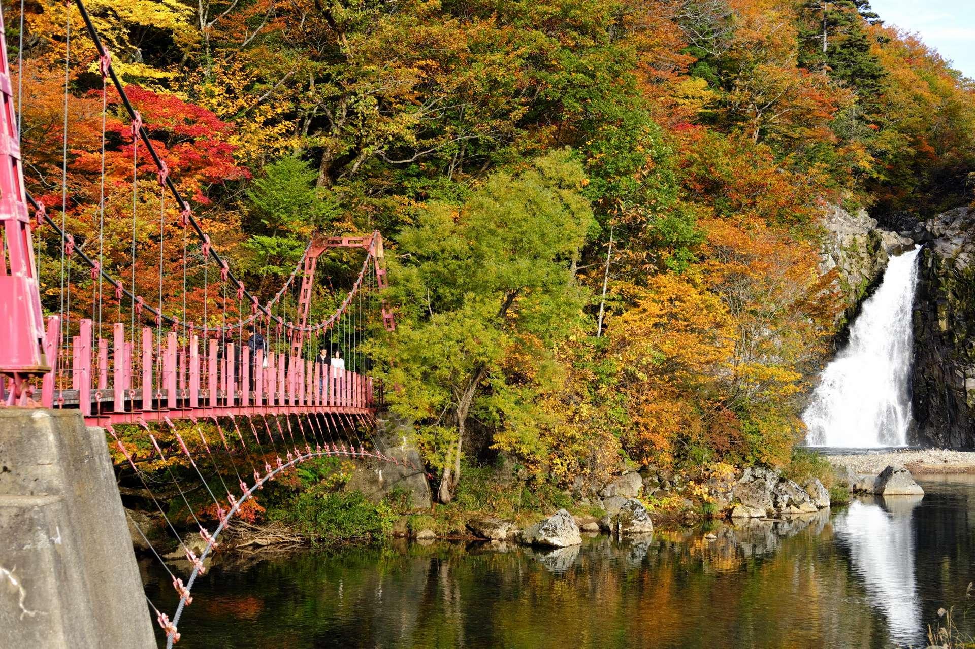 日本最佳的電影外景地,法體瀑布!