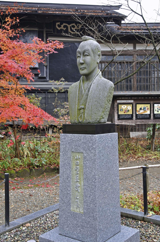 小田野直武 石像