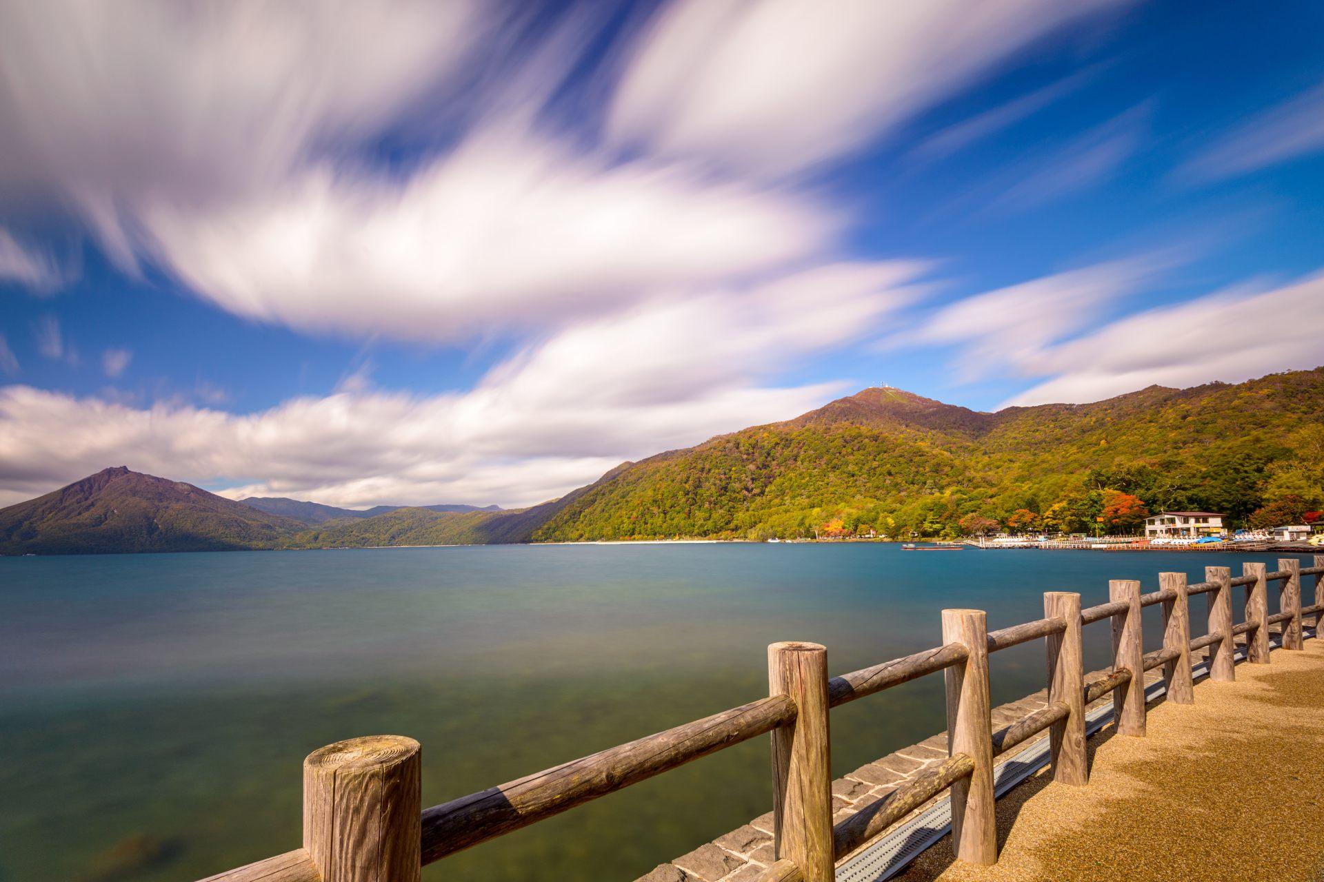 美麗的支笏湖