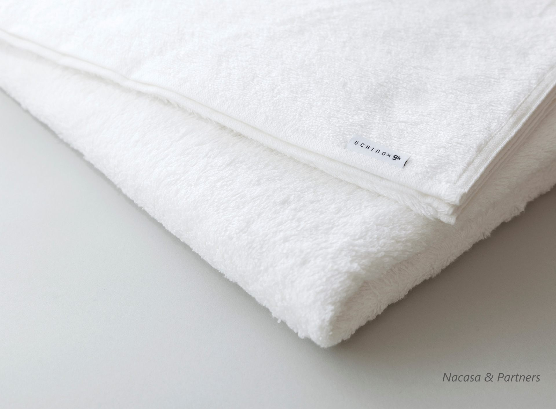 A soft long bath towel