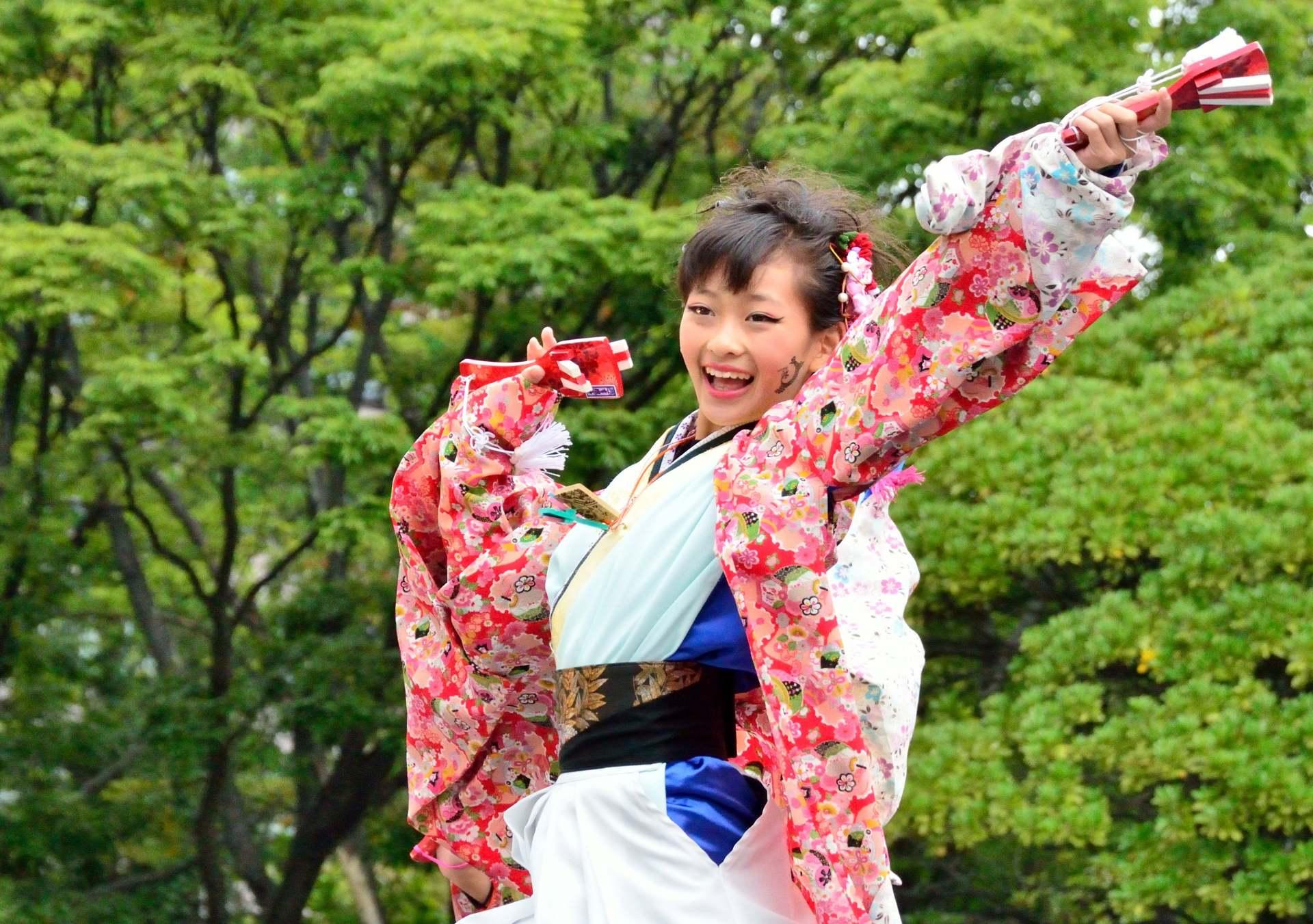充滿活力的YOSAKOI祭