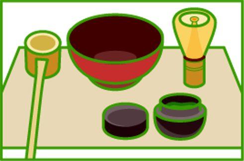 抹茶的茶具