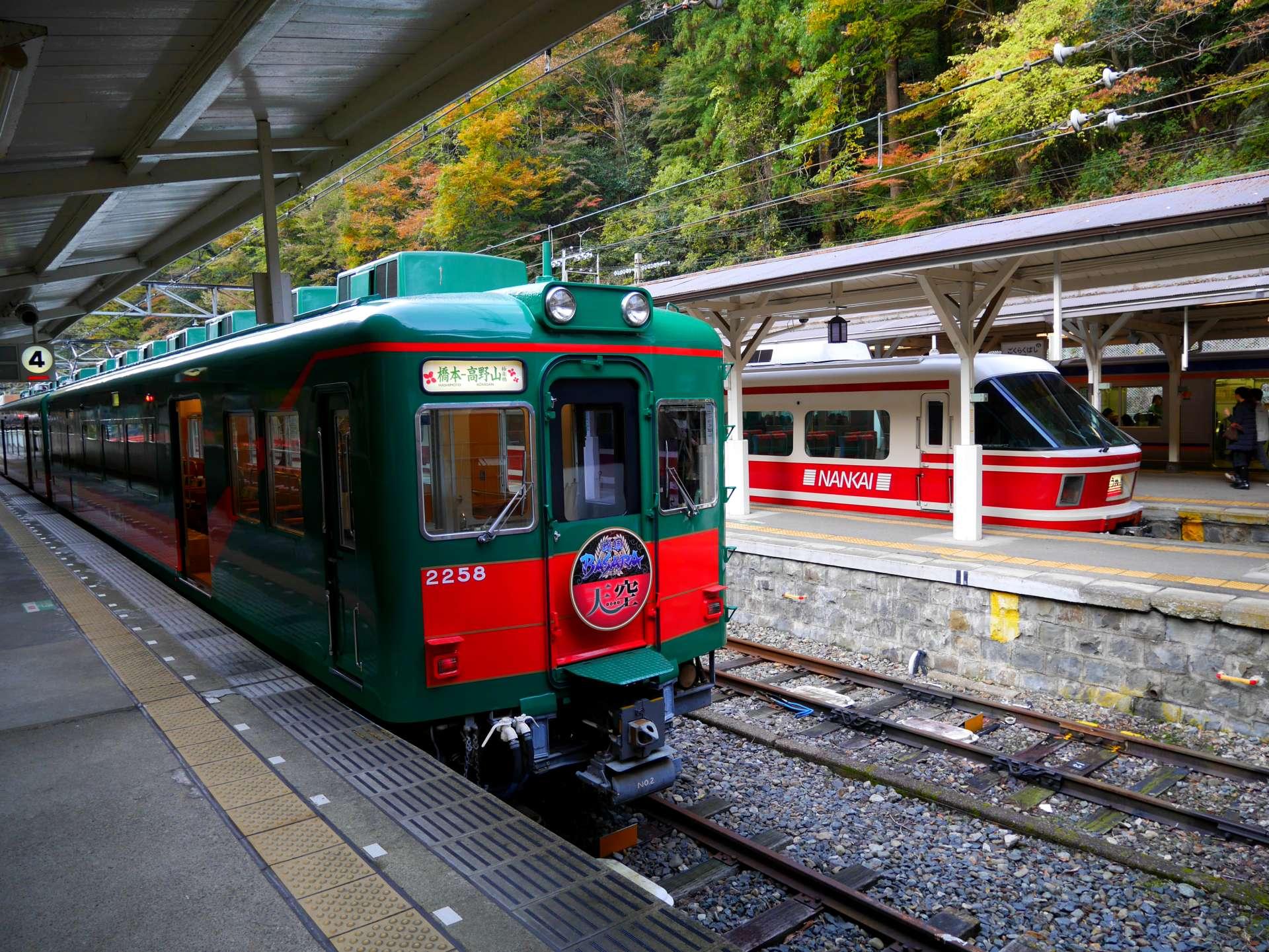 綠色的觀光列車「天空」