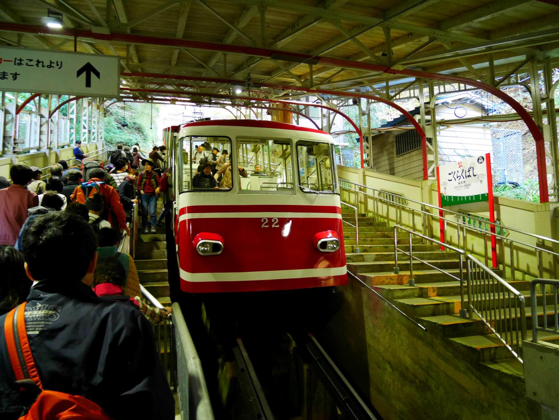 極樂橋車站 電纜車