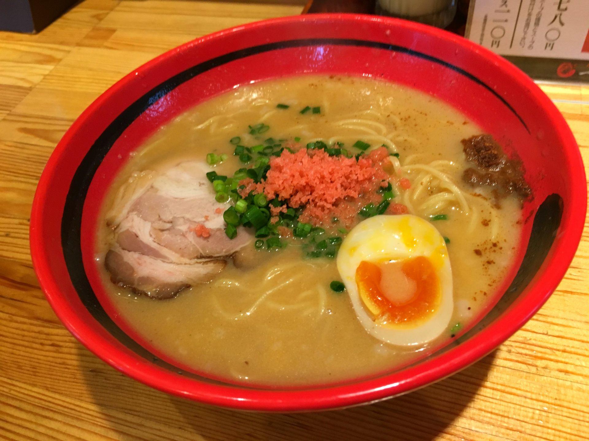 鹽味甜蝦拉麵(780日圓)