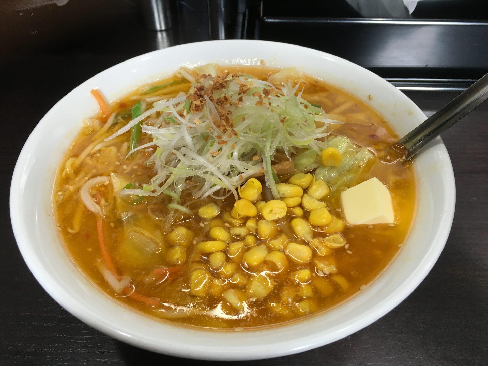 奶油玉米拉麵(980日圓)