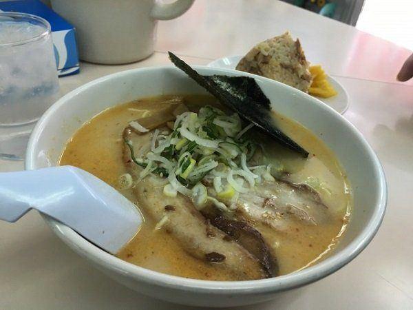 豚骨鹽味拉麵(680日圓)
