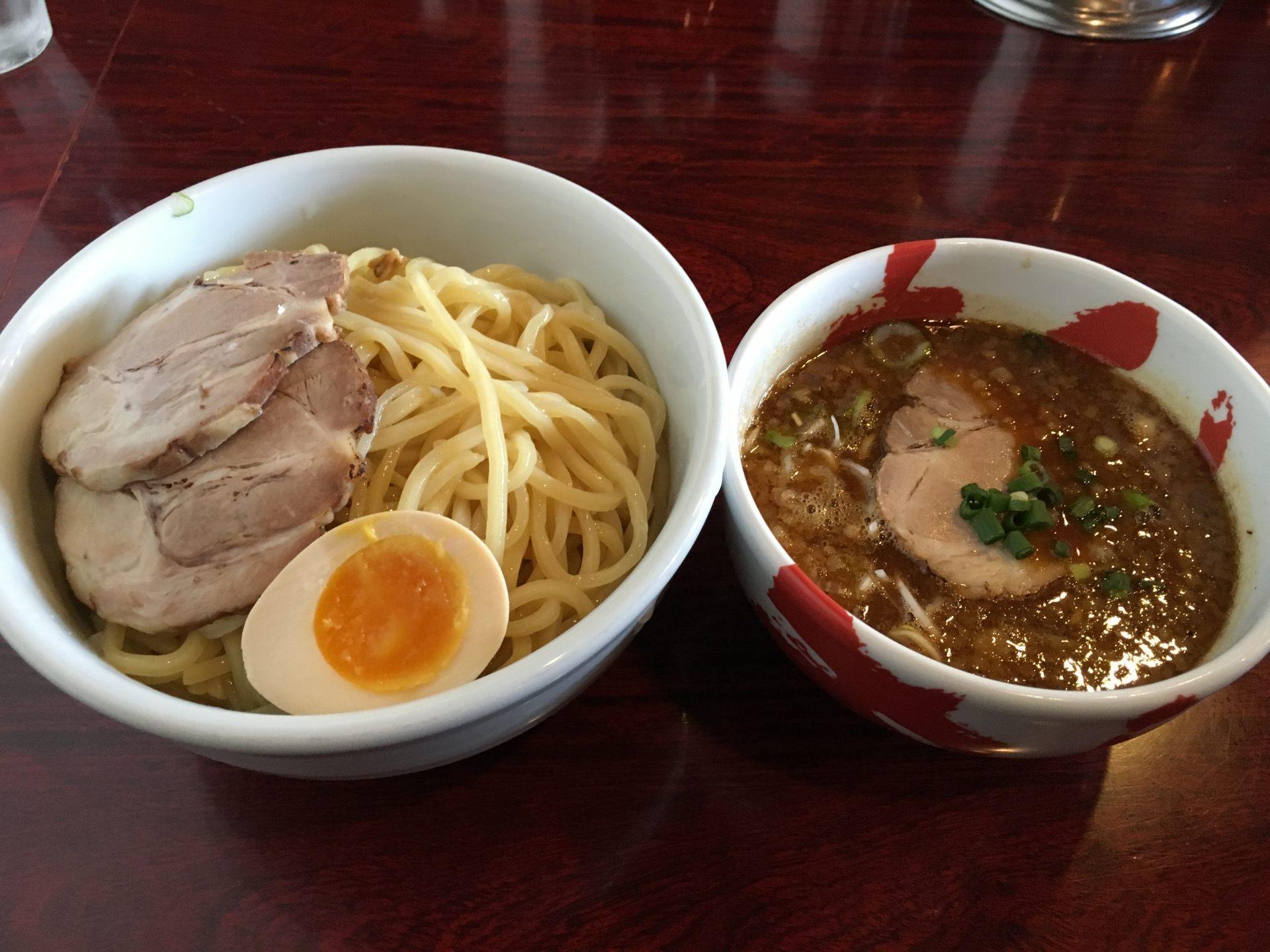特濃沾麵(1070日圓)