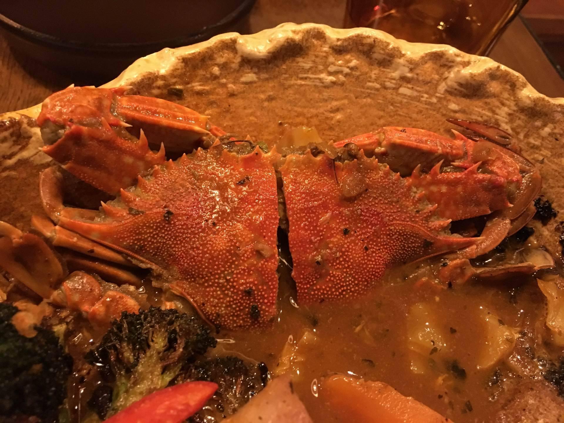 鮮魚湯咖哩(1458日圓)