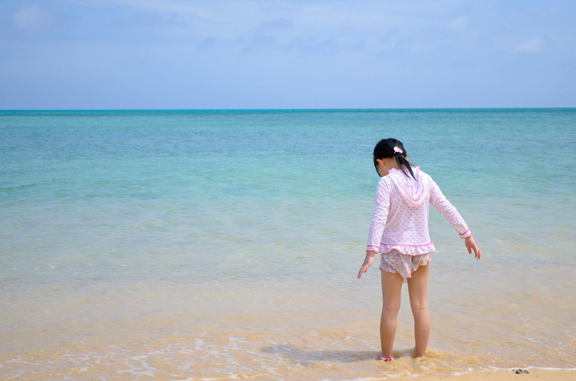 冲绳的海滩