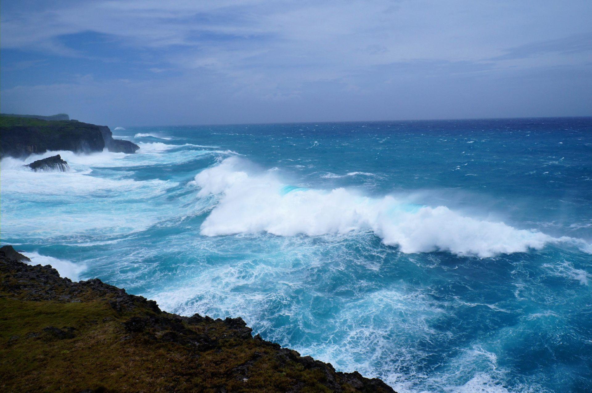 颱風 沖繩縣宮古島 MUIGA斷崖
