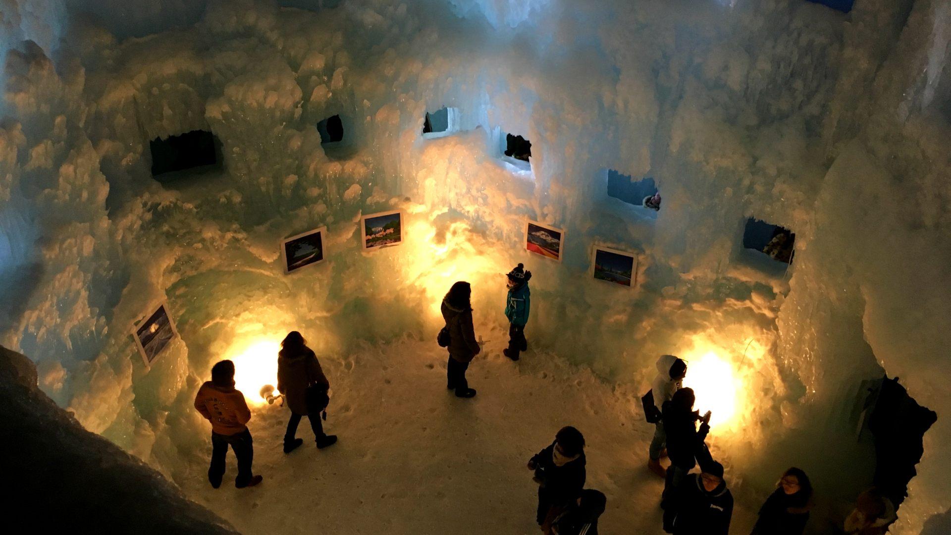 冰室畫廊點燈