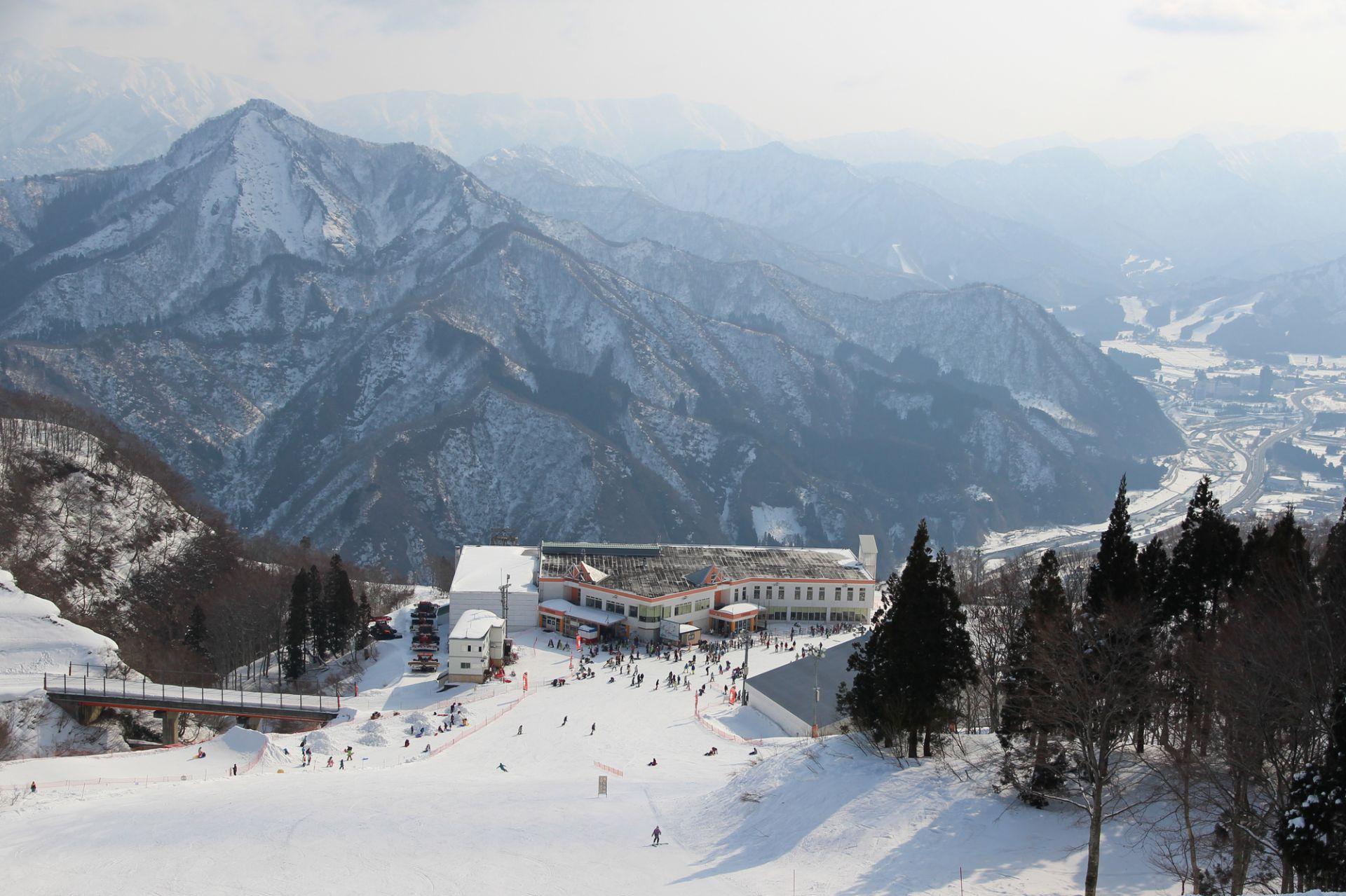 從滑雪場能看到最美的景色