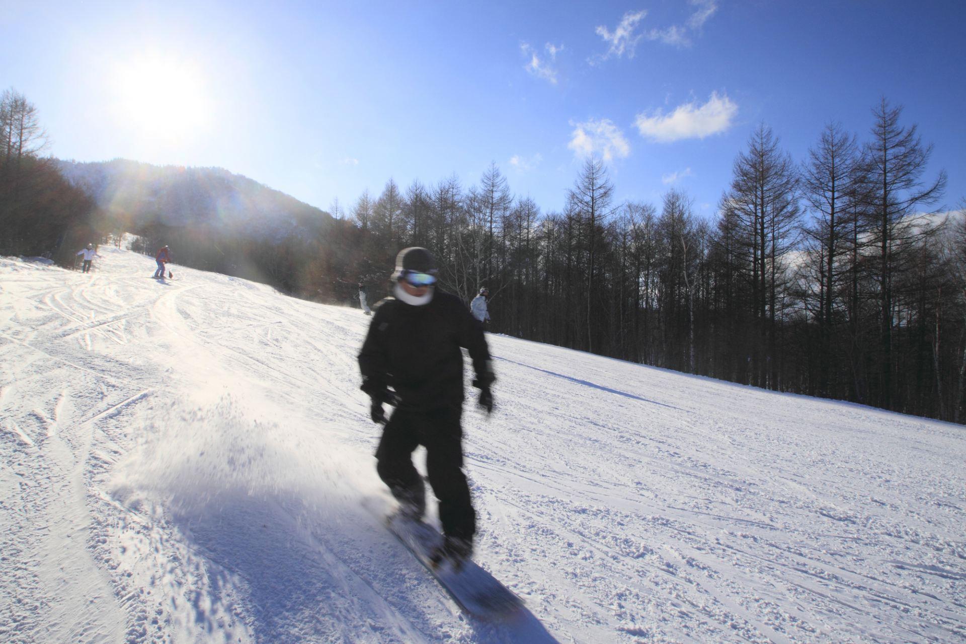 體驗低濕度粉雪「Aspirin Snow」